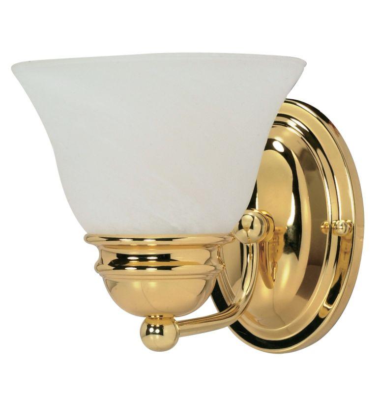 "Nuvo Lighting 60/348 Empire Single Light 6.3"" Wide Bathroom Sconce"