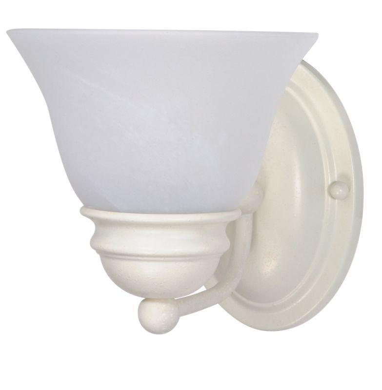 "Nuvo Lighting 60/352 Empire Single Light 6.3"" Wide Bathroom Sconce"