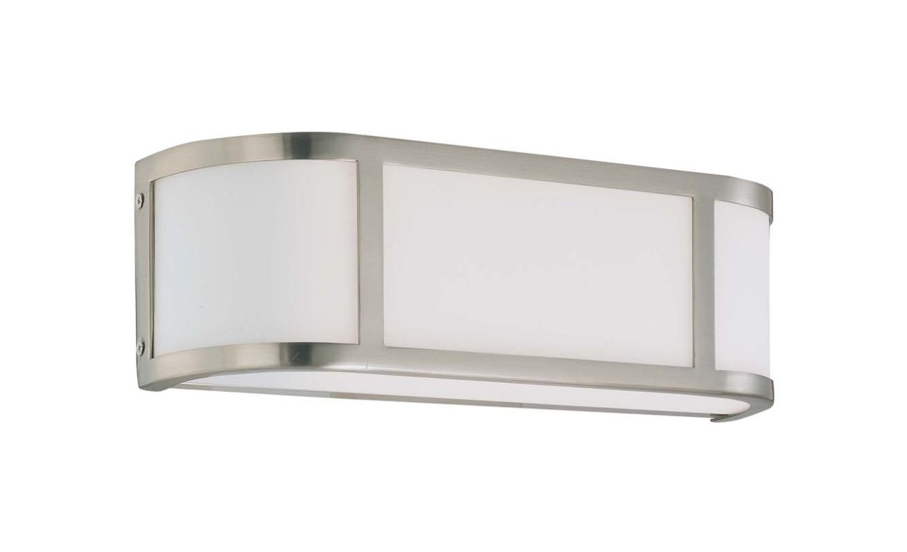 "Nuvo Lighting 60/3802 Two Light Ambient Lighting 15.5"" Wide Bathroom"