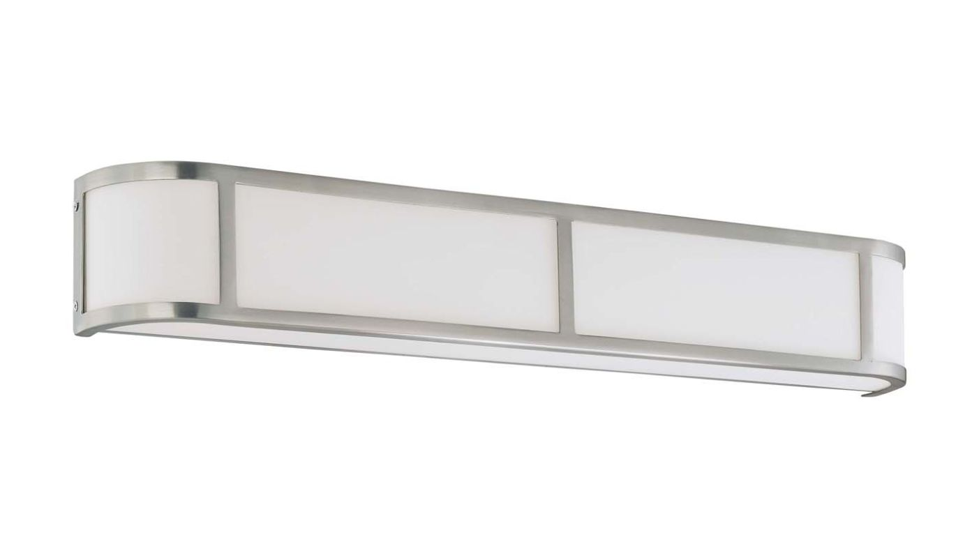 "Nuvo Lighting 60/3804 Four Light Ambient Lighting 32"" Wide Bathroom"