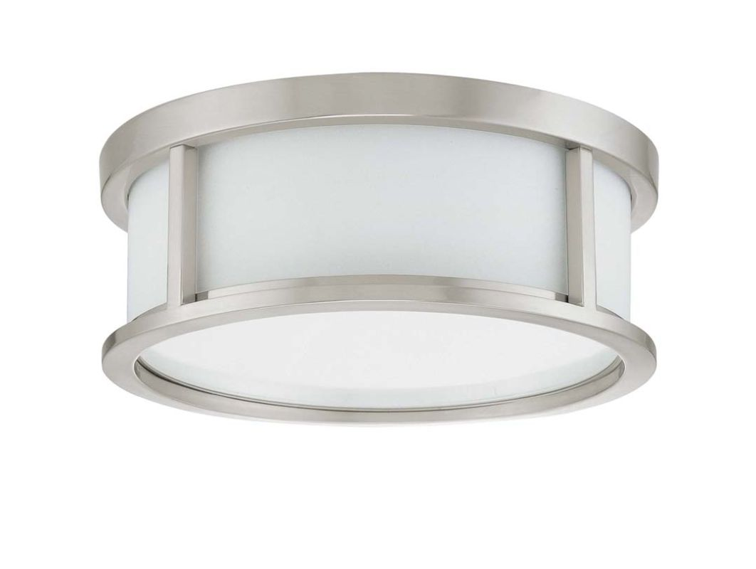 Nuvo Lighting 60/3811 Odeon 2 Light Flush Mount Energy Star Rated Sale $163.99 ITEM: bci911142 ID#:60/3811 UPC: 45923638114 :