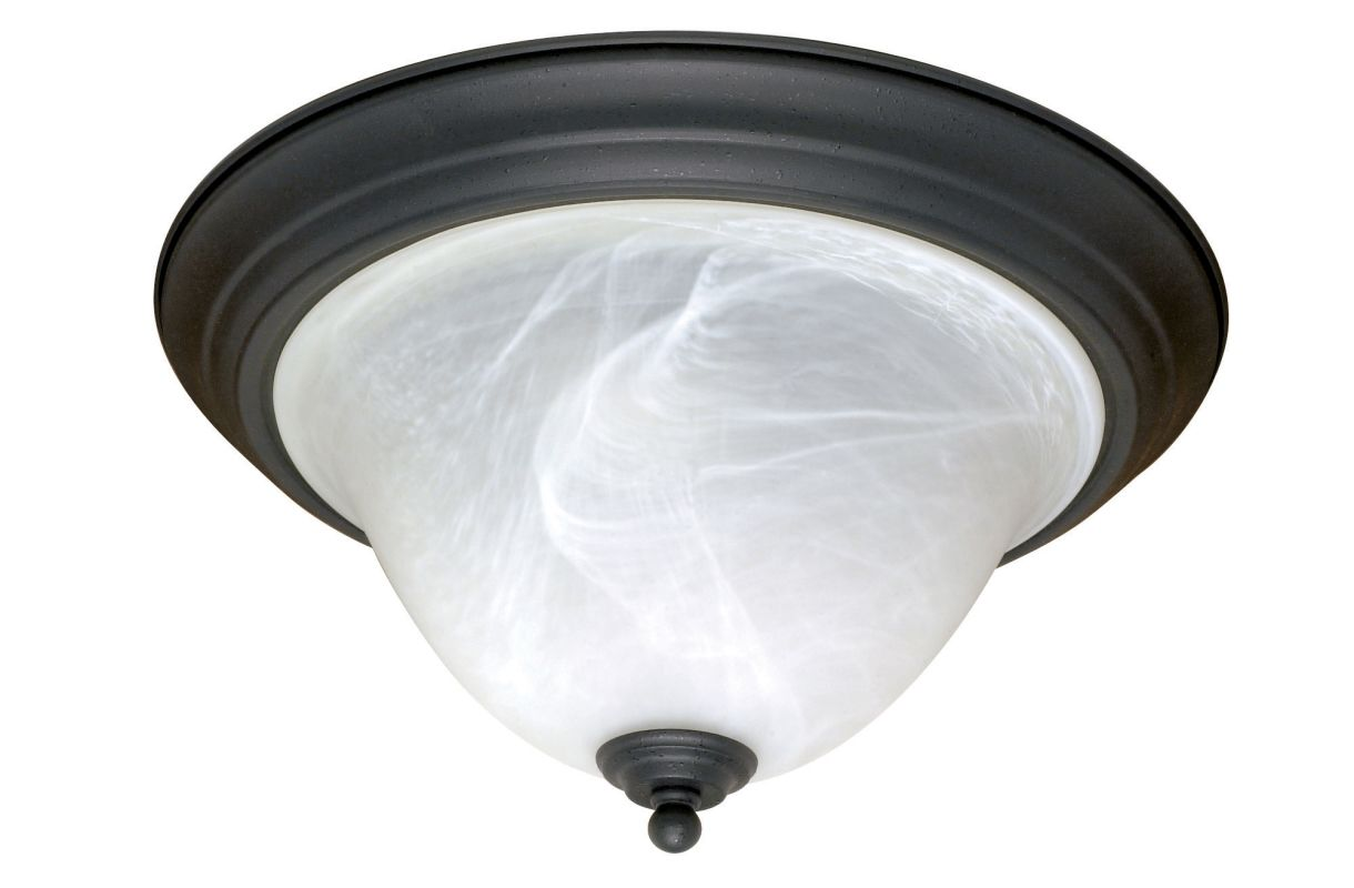 "Nuvo Lighting 60/383 Castillo 2 Light 15.3"" Wide Flush Mount Ceiling"