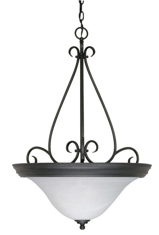 "Nuvo Lighting 60/385 Castillo 3 Light 20.5"" Wide Pendant with"