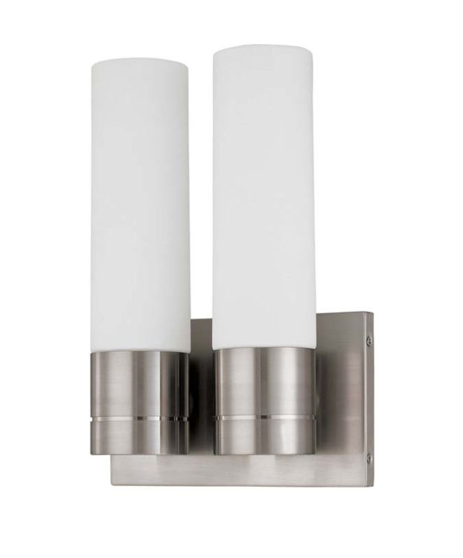 "Nuvo Lighting 60/3957 Link 2 Light 8"" Wide ADA Approved Bathroom"