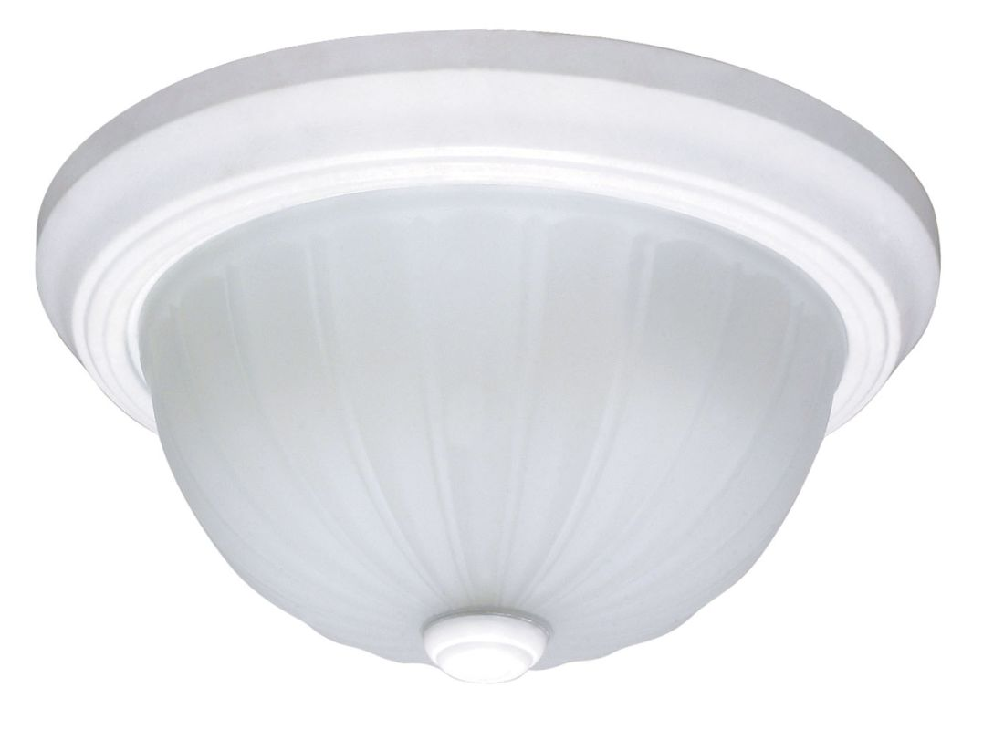 "Nuvo Lighting 60/445 2 Light 15"" Wide Flush Mount Ceiling Fixture with"