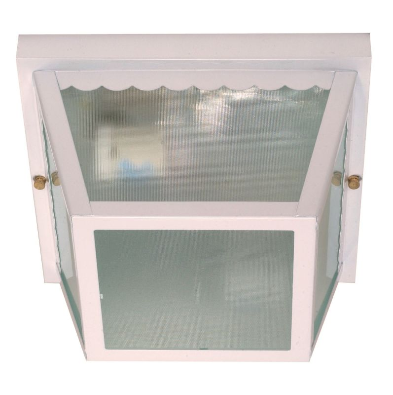 Nuvo Lighting 60/470 2 Light Flush Mount Outdoor Ceiling Fixture -
