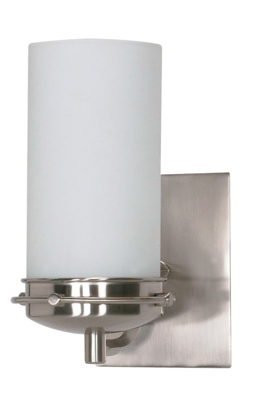 "Nuvo Lighting 60/494 Polaris Single Light 4.5"" Wide Bathroom Sconce"
