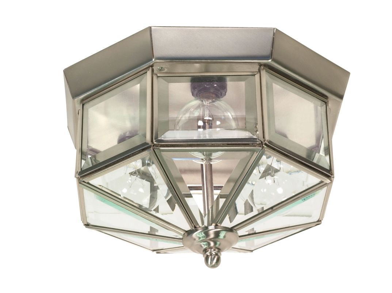 Shop Portfolio 3 Light Vassar Brushed Nickel Bathroom: Nuvo Lighting 60/514 Brushed Nickel 3 Light Flush Mount