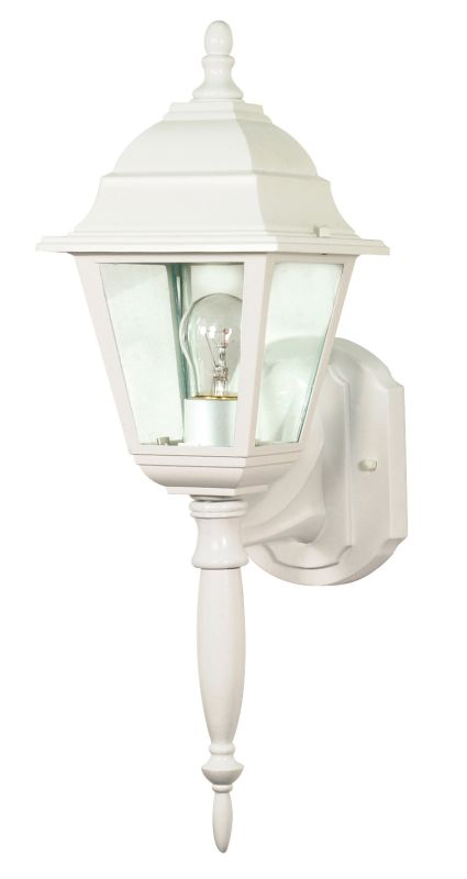 Nuvo Lighting 60/540 Single Light Up Lighting Outdoor Wall Sconce from
