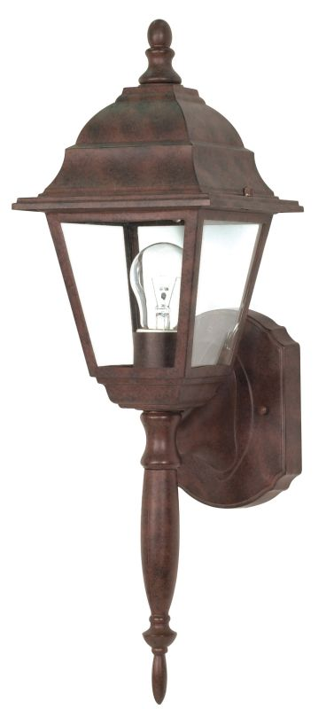 Nuvo Lighting 60/541 Single Light Up Lighting Outdoor Wall Sconce from