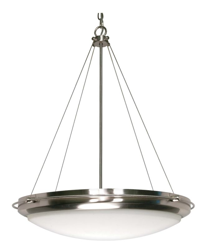 Nuvo Lighting 60/610 Three Light 23 inch Wide Bowl Pendant from the