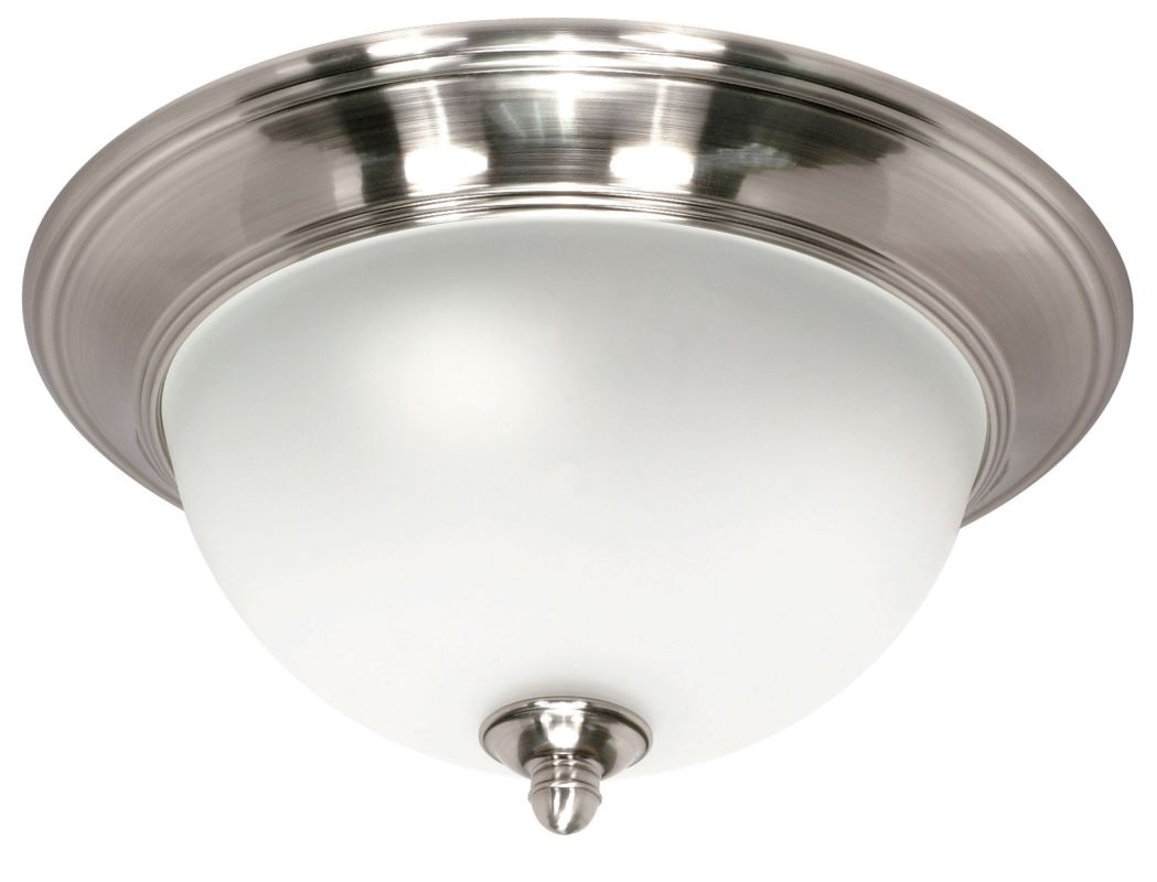 "Nuvo Lighting 60/619 Palladium 3 Light 16"" Wide Flush Mount Ceiling"