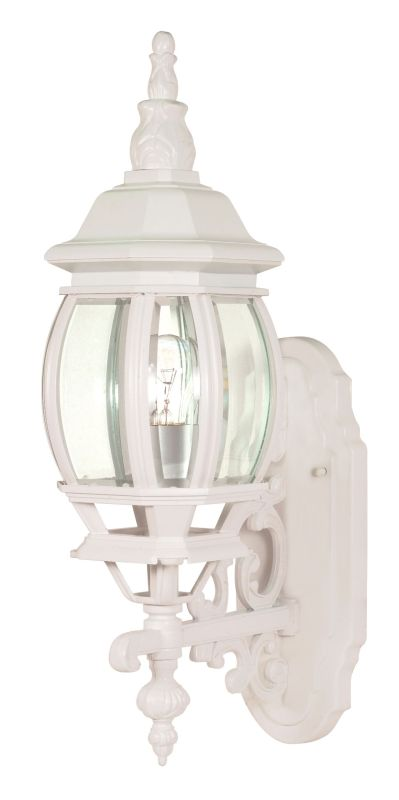Nuvo Lighting 60/885 Single Light Up Lighting Outdoor Wall Sconce from