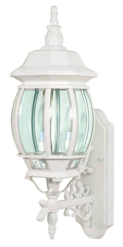 Nuvo Lighting 60/888 Three Light Up Lighting Outdoor Wall Sconce from