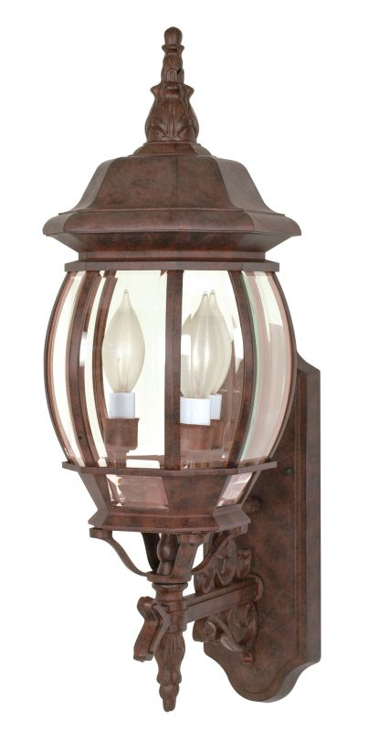 Nuvo Lighting 60/889 Three Light Up Lighting Outdoor Wall Sconce from