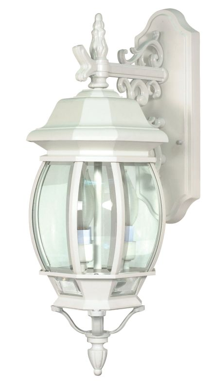Nuvo Lighting 60/891 Three Light Up Lighting Outdoor Wall Sconce from