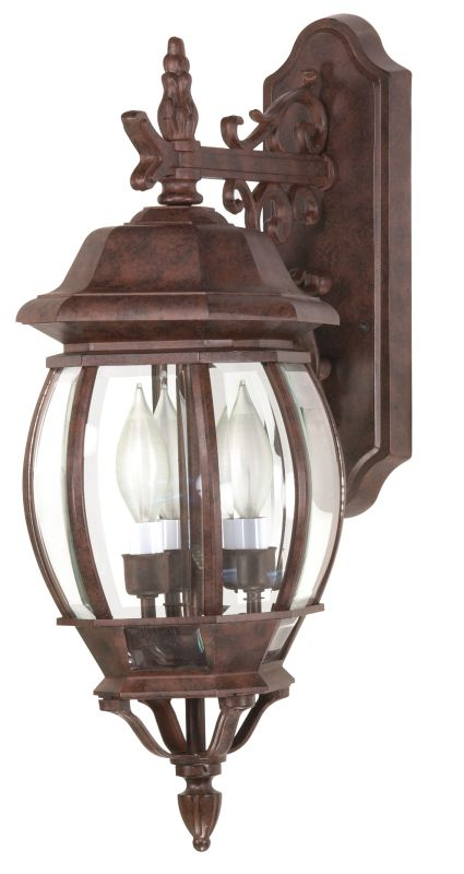 Nuvo Lighting 60/892 Three Light Up Lighting Outdoor Wall Sconce from