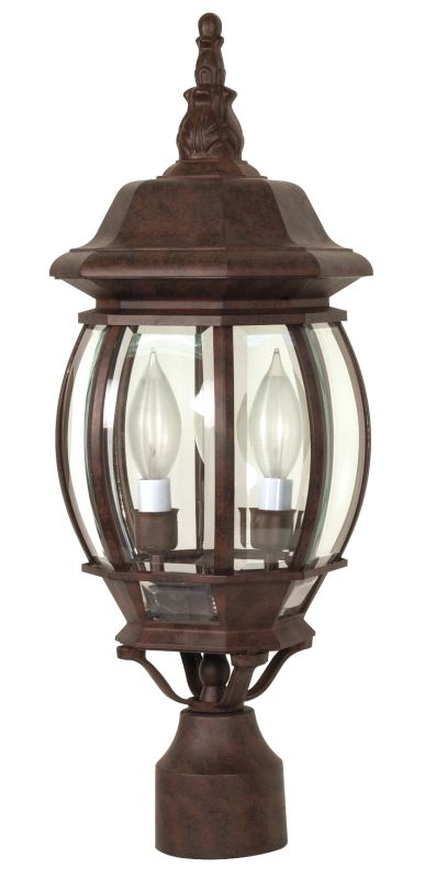 Nuvo Lighting 60/898 Three Light Up Lighting Outdoor Post Light from