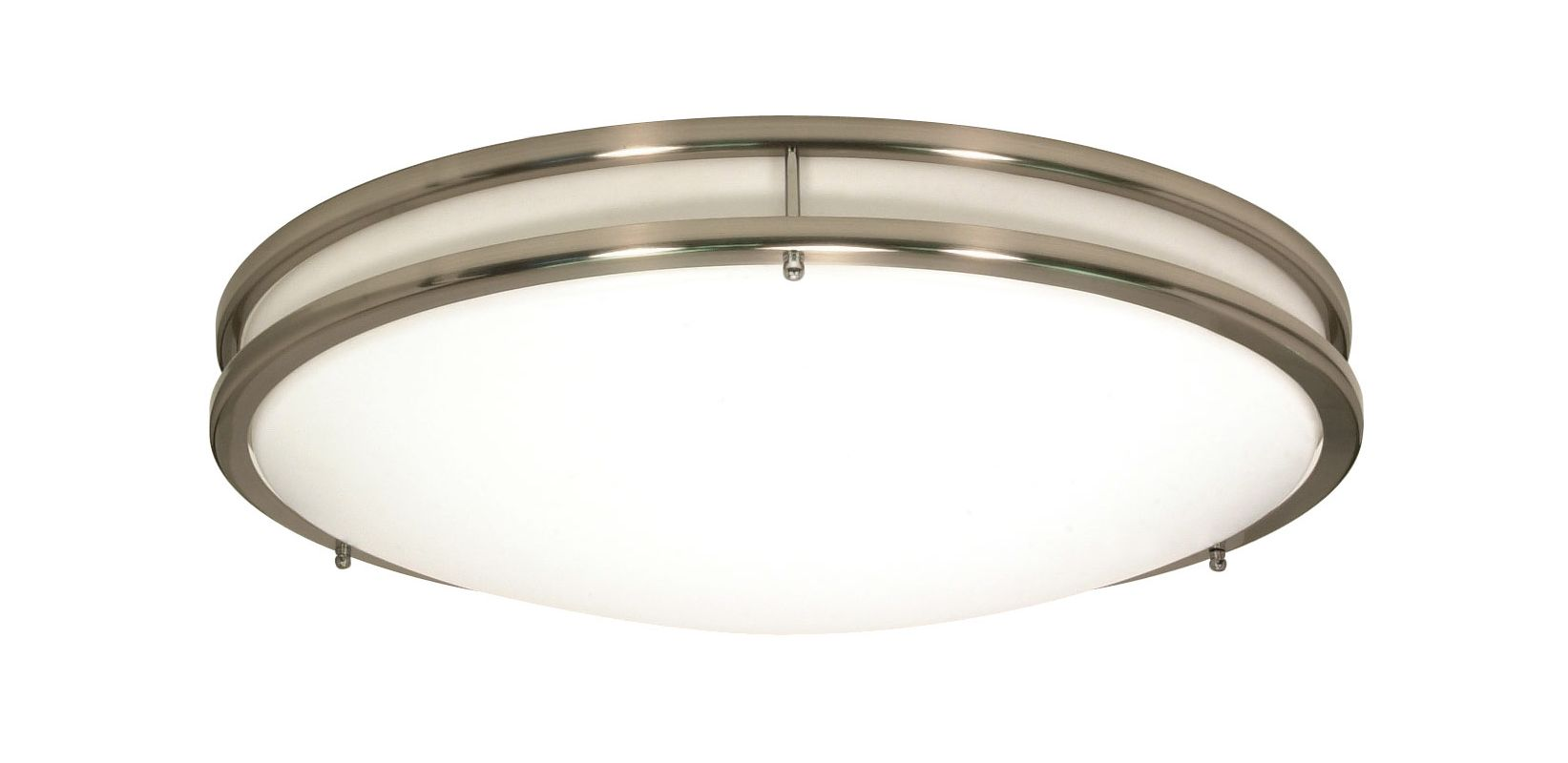 Nuvo Lighting 60/901 Glamour 3 Light Flush Mount Energy Star Rated