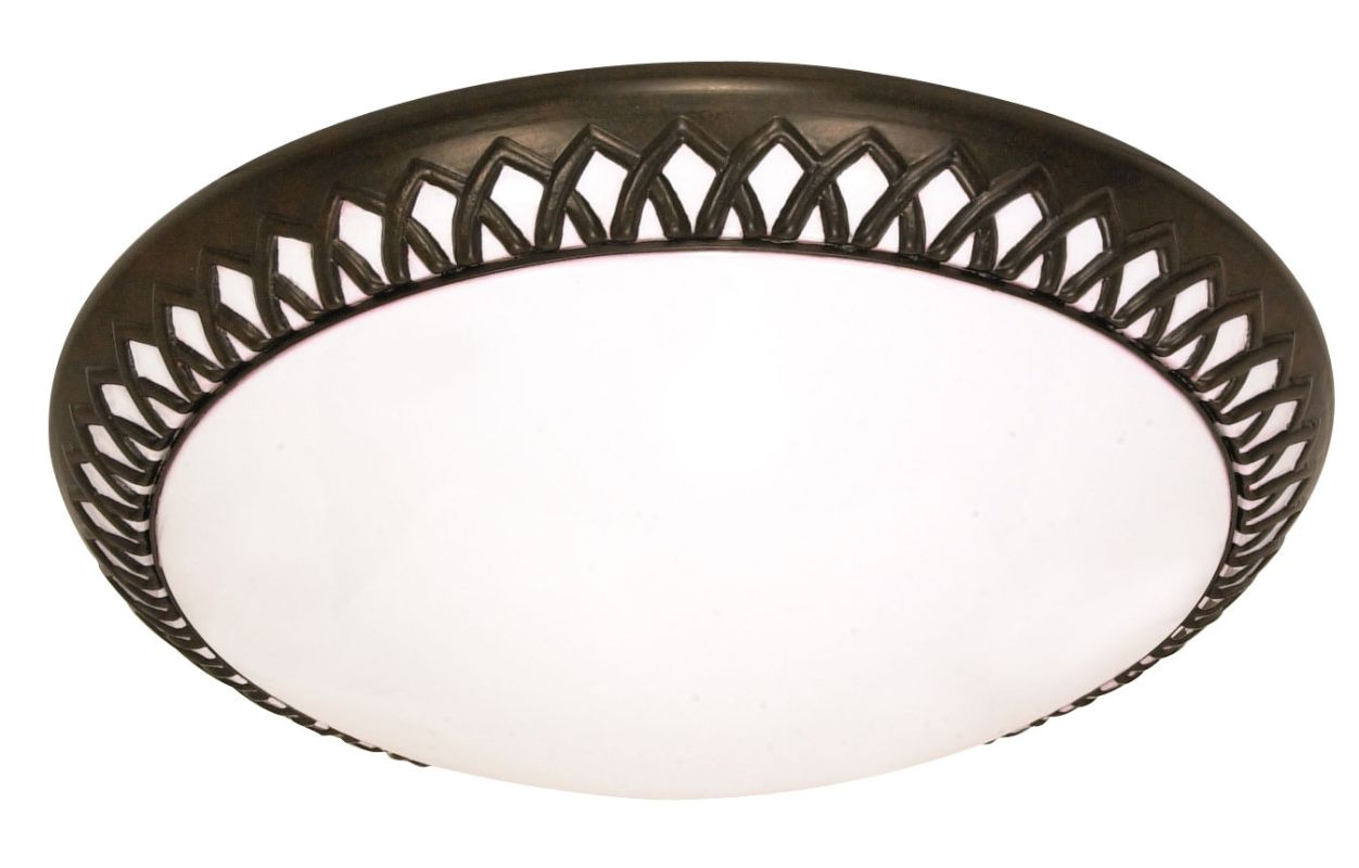 Nuvo Lighting 60/924 Rustica 2 Light Flush Mount Energy Star Rated