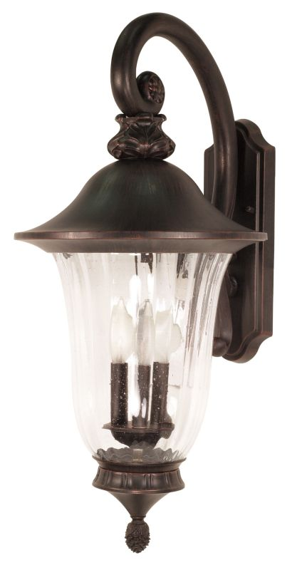 Nuvo Lighting 60/979 Three Light Up Lighting Outdoor Wall Sconce from