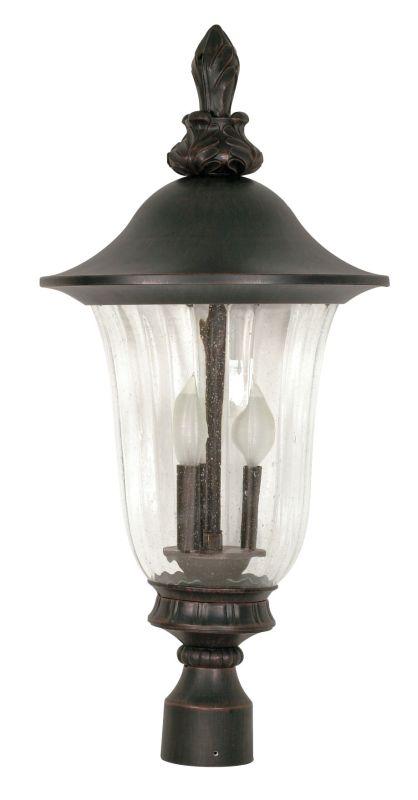 Nuvo Lighting 60/984 Three Light Up Lighting Outdoor Post Light from