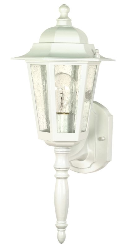 Nuvo Lighting 60/985 Single Light Up Lighting Outdoor Wall Sconce from