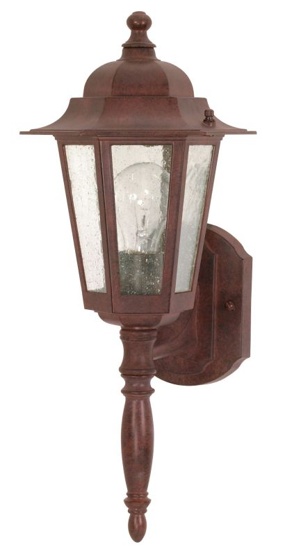Nuvo Lighting 60/986 Single Light Up Lighting Outdoor Wall Sconce from