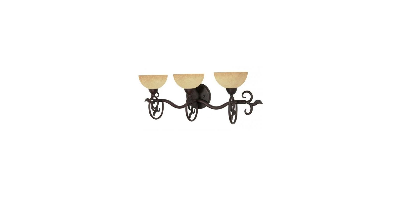Nuvo Lighting 60/047 Tapas 3 Light Bathroom Vanity Light Old Bronze