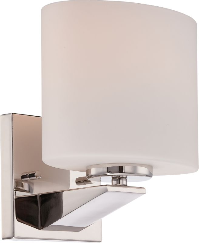 Nuvo Lighting 60/5171 Breeze 1 Light Bathroom Sconce Polished Nickel Sale $79.99 ITEM: bci2590555 ID#:60/5171 UPC: 45923651717 :