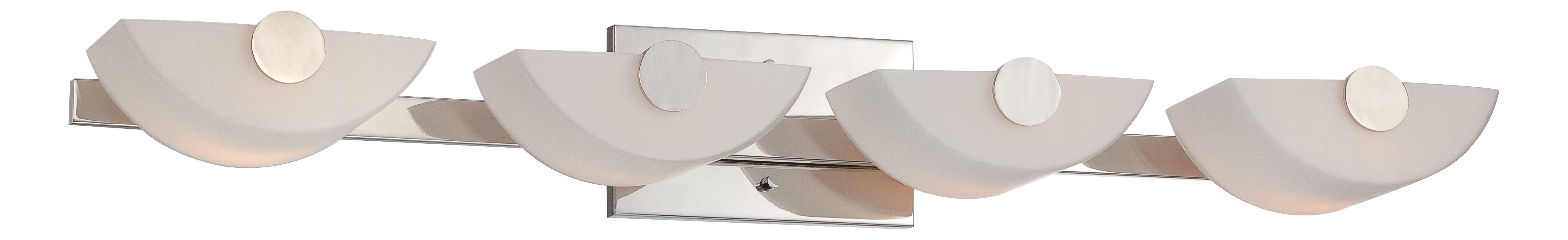 Nuvo Lighting 60/5194 Semi 4 Light Bathroom Vanity Light Polished