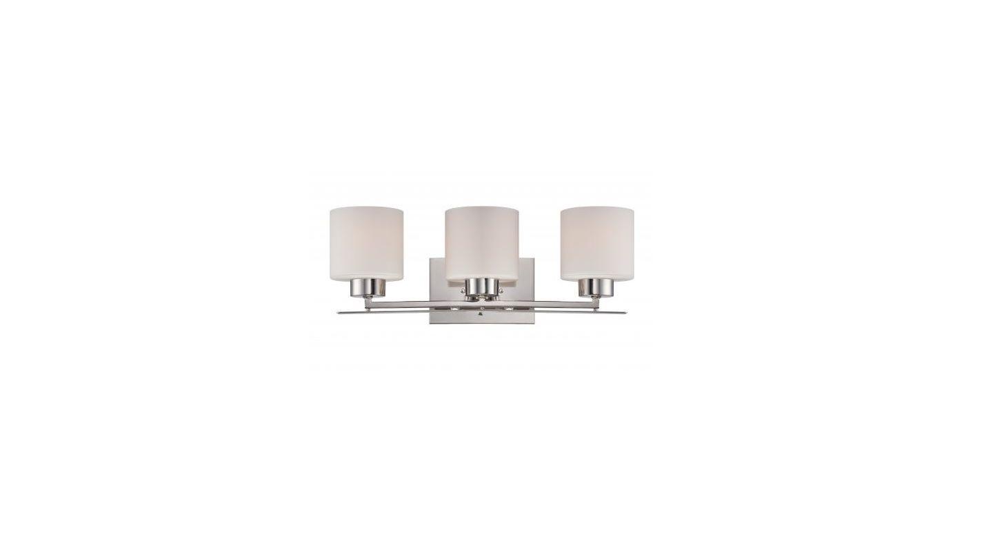 Nuvo Lighting 60/5203 Parallel 3 Light Bathroom Vanity Light in