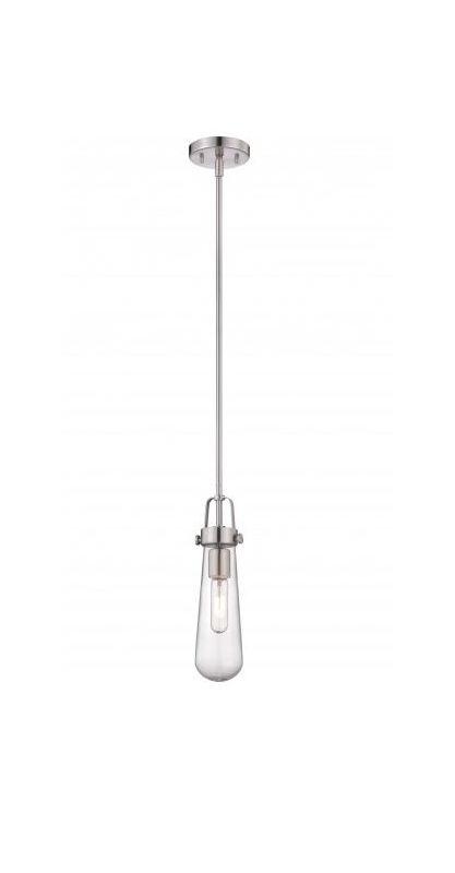 Nuvo Lighting 60/5262 Beaker 1 Light Mini Single Pendant in Brushed