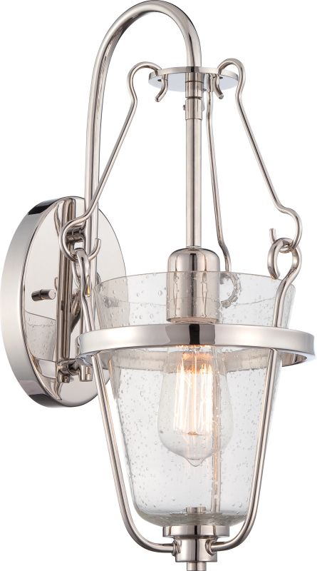Nuvo Lighting 60/5286 Latham 1 Light Bathroom Sconce in Polished