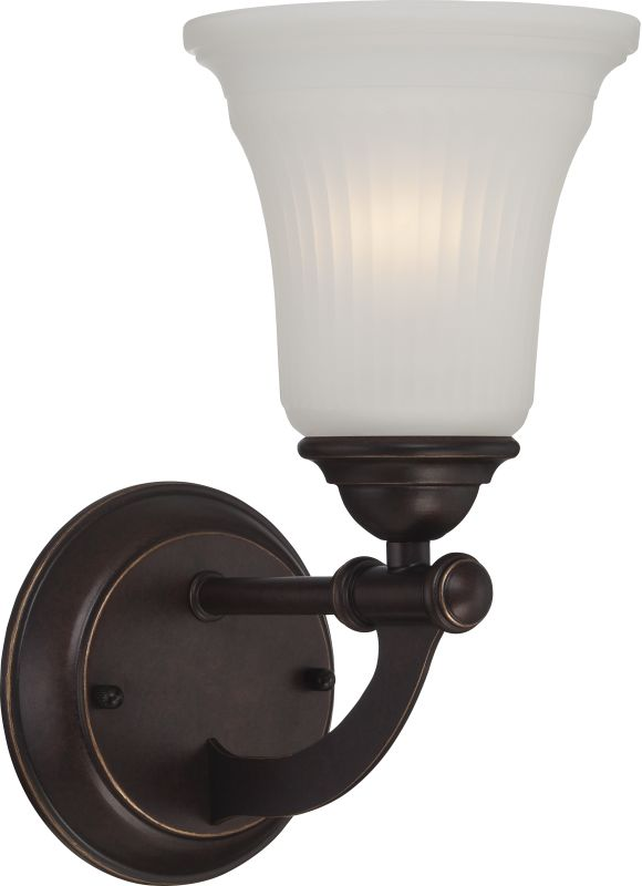 Nuvo Lighting 60/5311 Monroe 1 Light Bathroom Sconce Georgetown Bronze