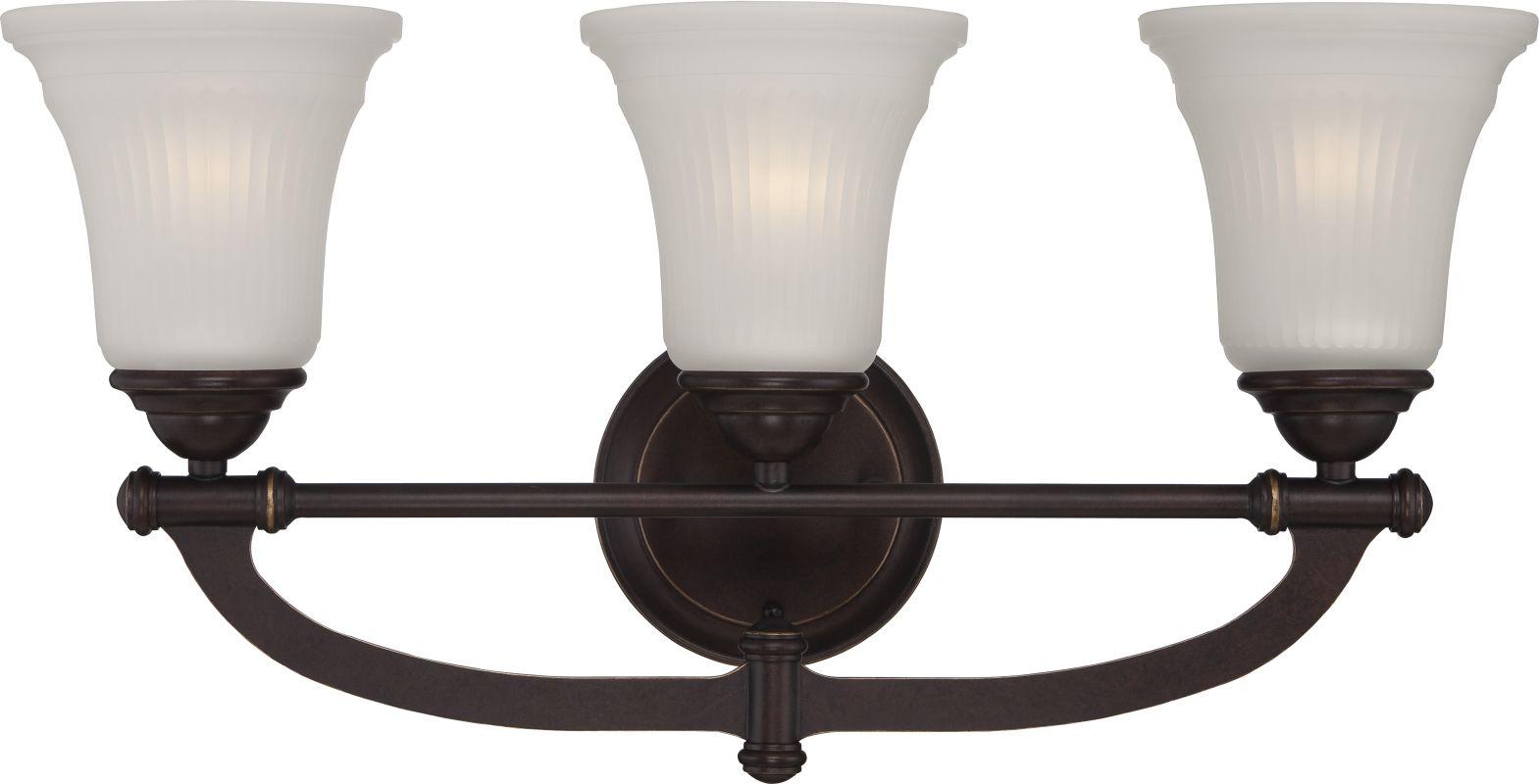 Nuvo Lighting 60/5313 Monroe 3 Light Bathroom Vanity Light Georgetown