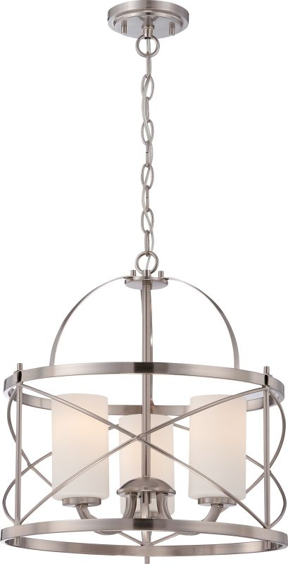 Nuvo Lighting 60/5333 Ginger 3 Light Full Sized Multi Light Pendant in