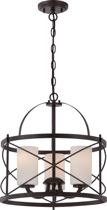 Nuvo Lighting 60/5337 Ginger 3 Light Full Sized Multi Light Pendant in