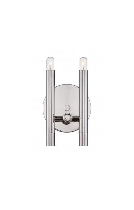 Nuvo Lighting 60/5341 Telegraph 2 Light Bathroom Vanity Light in