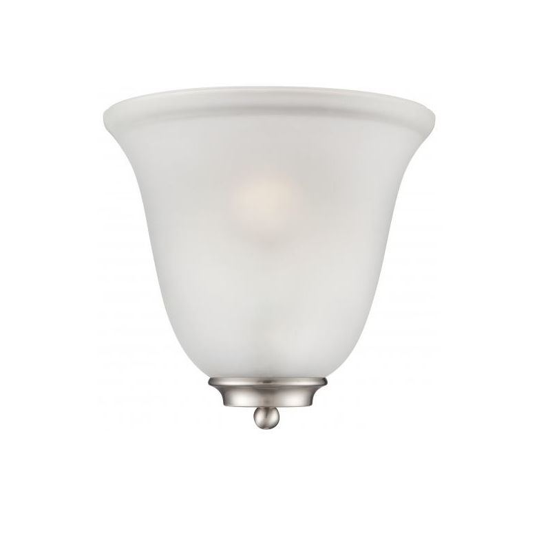 Nuvo Lighting 60/5377 Empire 1 Light Wall Sconce with Frosted Shade