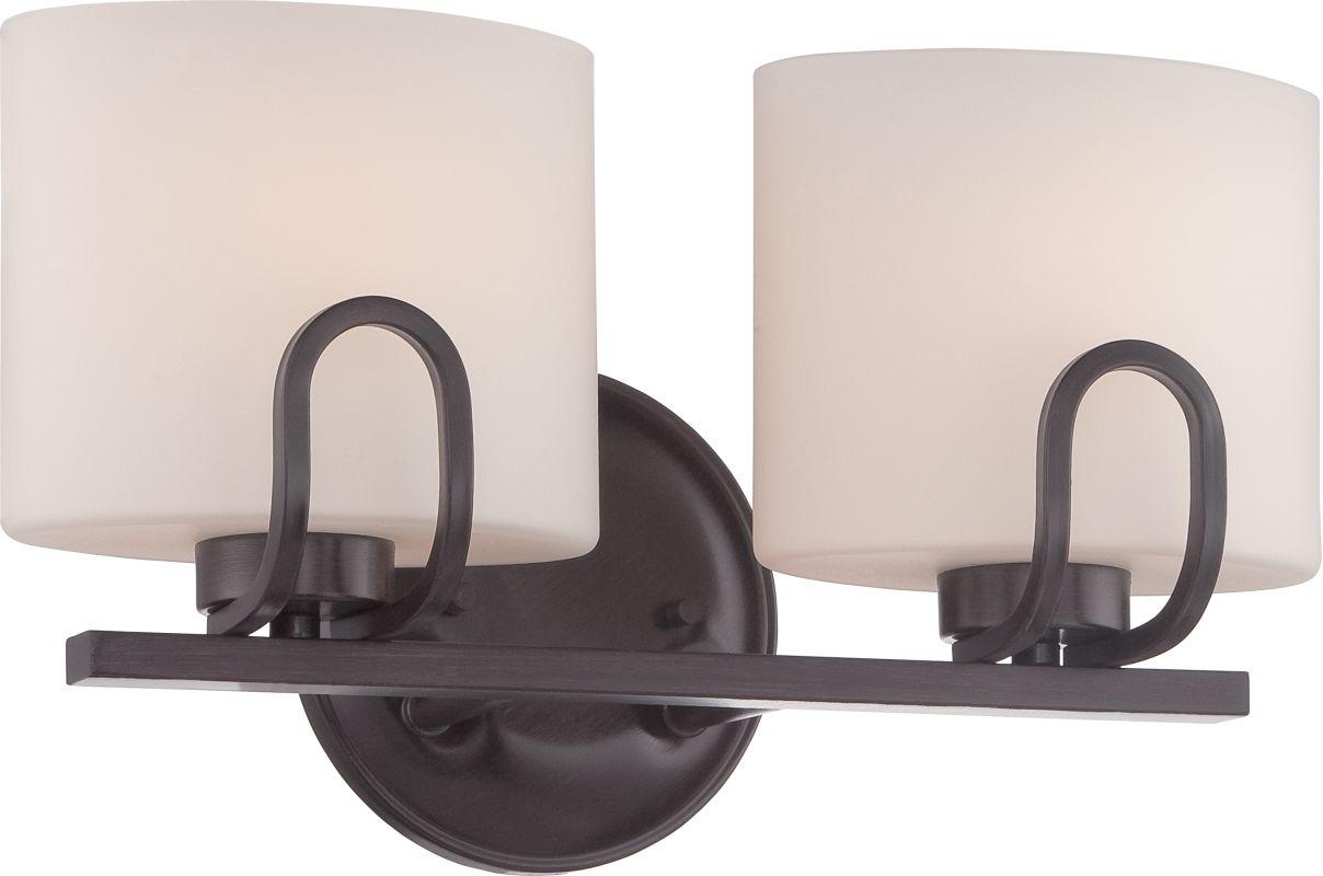 Nuvo Lighting 60/5392 Lola 2 Light Bathroom Vanity Light in Georgetown