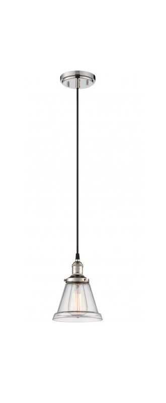 "Nuvo Lighting 60/5402 Vintage 6.5"" Width 1 Light Mini Single Pendant"