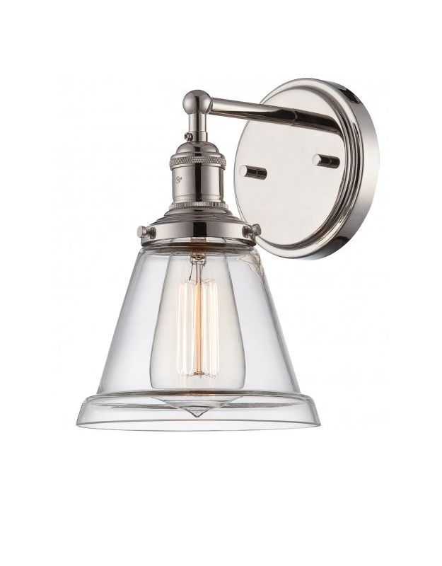 Nuvo Lighting 60/5412 Vintage 6.5&quote Width 1 Light Bathroom Sconce in