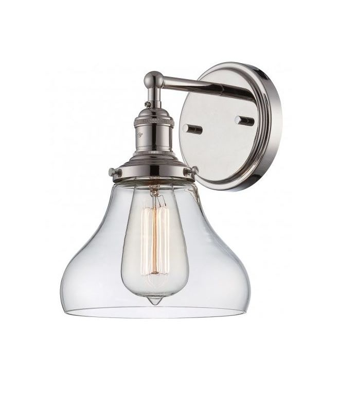 Nuvo Lighting 60/5413 Vintage 7&quote Width 1 Light Bathroom Sconce in