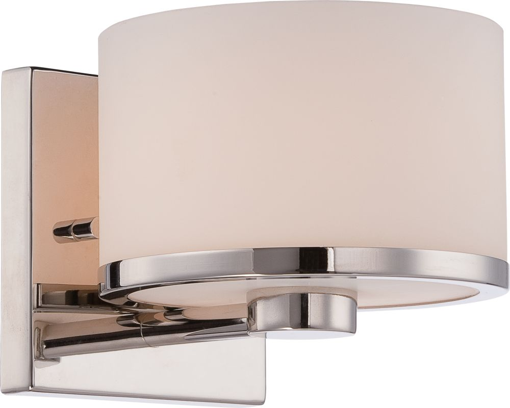 Nuvo Lighting 60/5471 Celine 1 Light Bathroom Sconce in Polished