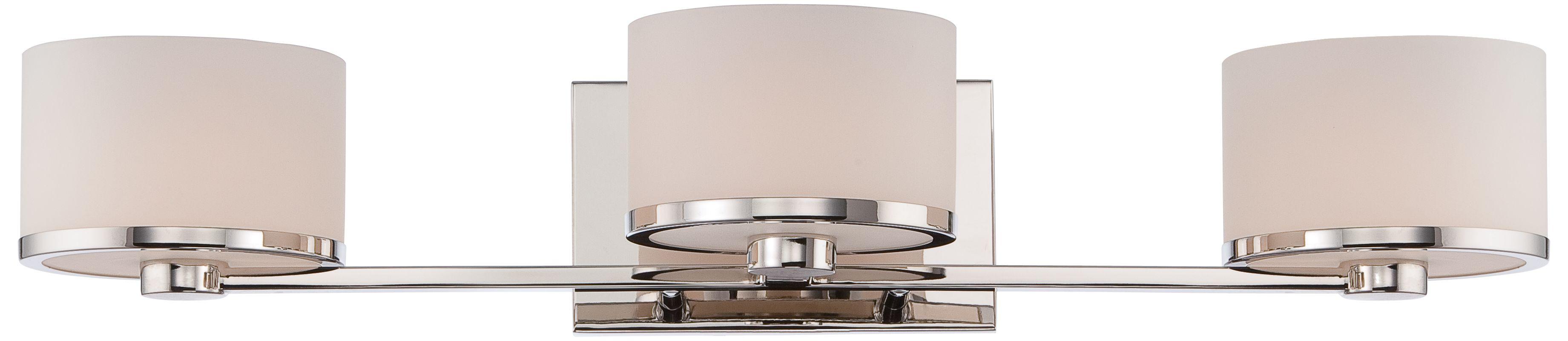 Nuvo Lighting 60/5473 Celine 3 Light Bathroom Vanity Light in Polished