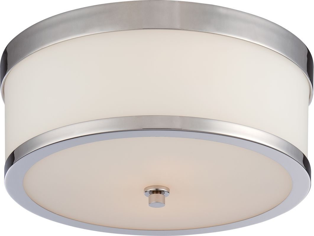 Nuvo Lighting 60/5476 Celine 2 Light Flush Mount Indoor Ceiling