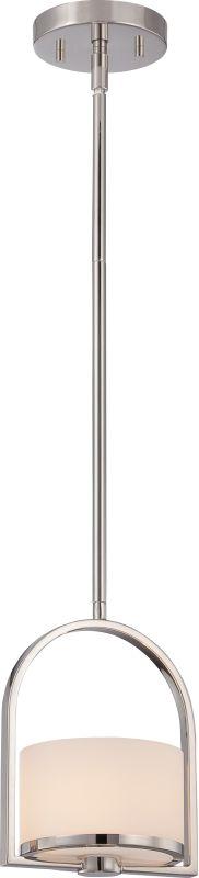 Nuvo Lighting 60/5478 Celine 1 Light Mini Single Pendant Polished