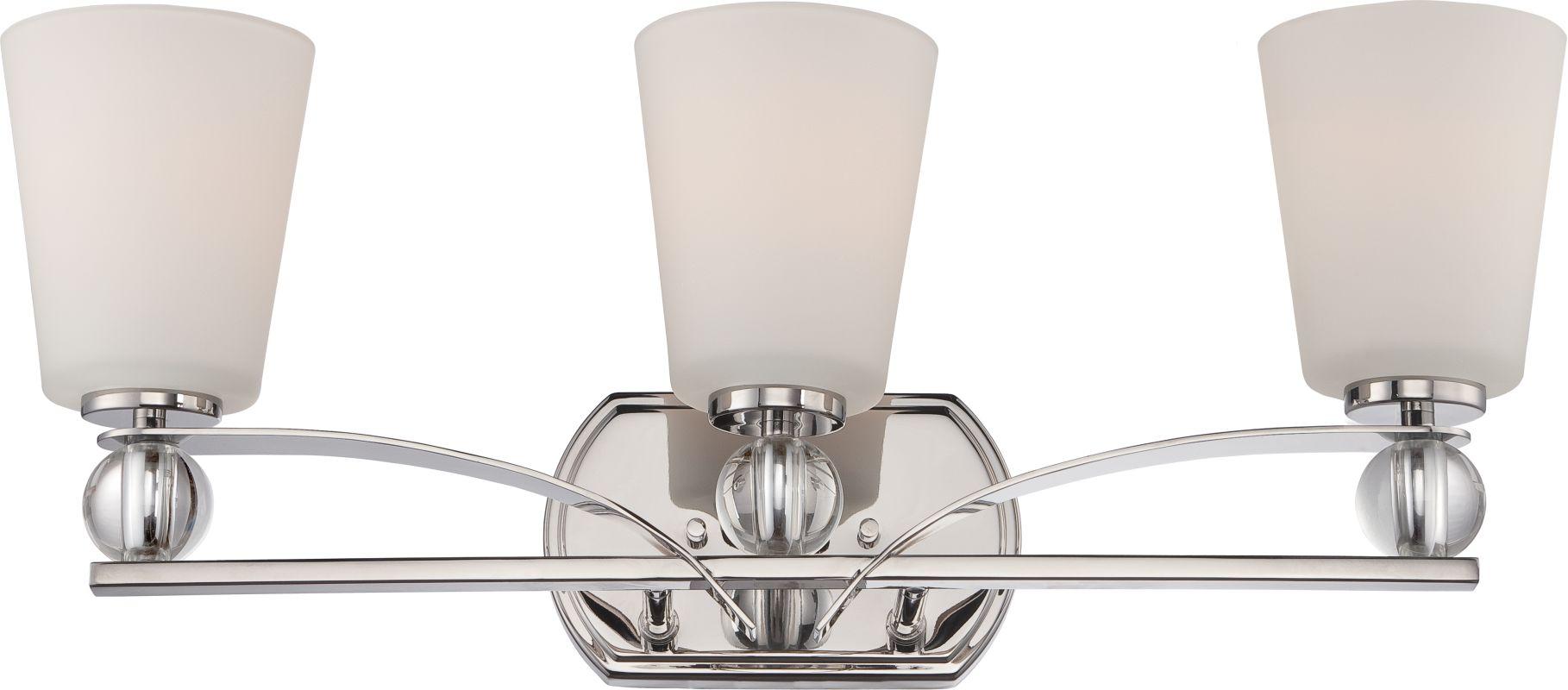 Nuvo Lighting 60/5493 Connie 3 Light Bathroom Vanity Light Polished