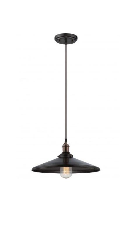 Nuvo Lighting 60/5509 Vintage 1 Light Full Sized Single Pendant with